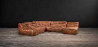 Timothey Oulton Shabby Sectional Sofa