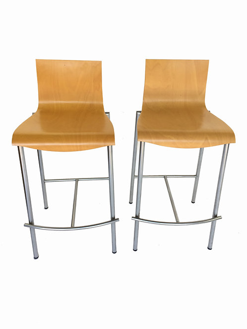 Blonde Italian Counter Stool (2)