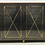 Thumbnail: Gunmetal and Brass Sideboard in the Style of Maison Jansen