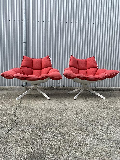 B&B Italia Husk Chairs by Patricia Urquiola