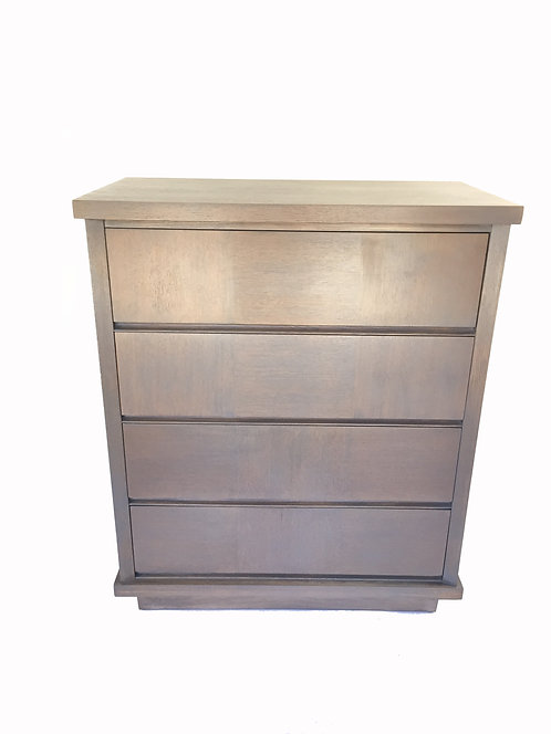 Ash Tone Highboy Dresser
