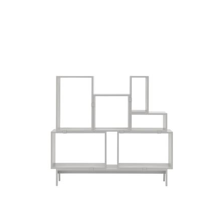 Muuto Stacked 2.0 Modular Bookcase, White