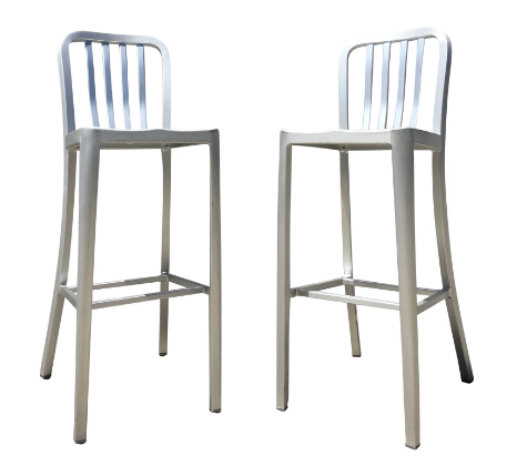 Crate and Barrel Barstools (Set of 2)