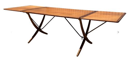 Hans Wegner Sabre Leg Table for Andres Tuck