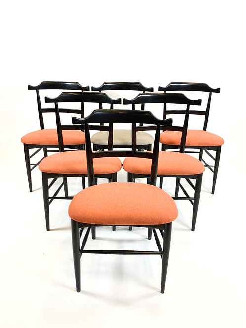 Early Milo Baughman for Murray Dining Chairs