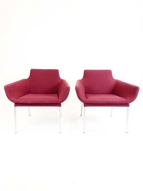 Walter Knoll Lounge Chairs, a pair