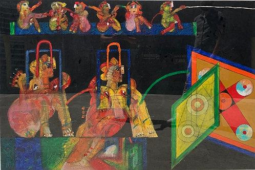 Norman Laliberté Painting