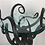 Thumbnail: Artisan Wrought Iron Medusa-Like Occasional Table, Signed
