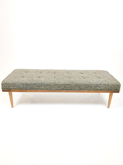 Upholstered Midcentury Style Bench