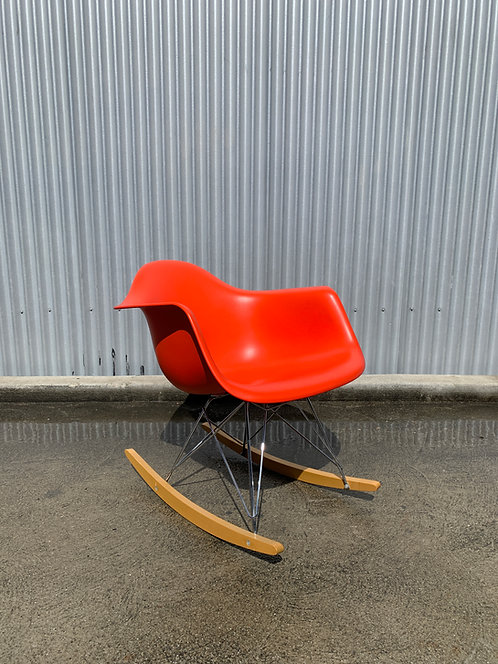 Vitra and Herman Miller Eames Plastic Rocker