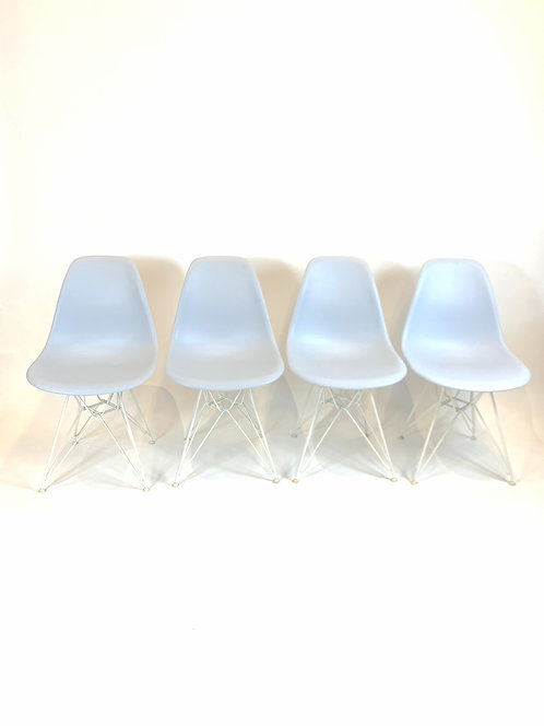 Set of 4 Eames for Herman Miller Eiffel Chairs