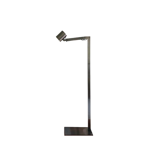 "Christian Liaigre ""Chantecaille"" Stainless Steel Floor Lamp"