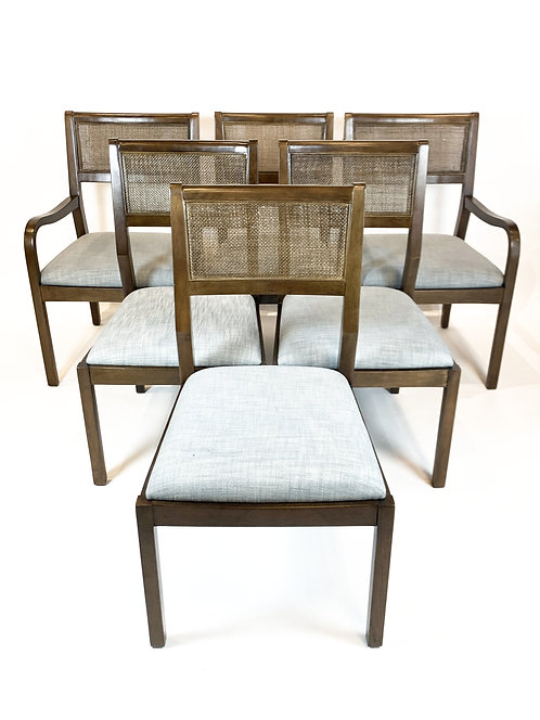 Contemporary Dining Chairs, Set of 6