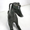 Thumbnail: Pair of Life-Size Bronze Whippets