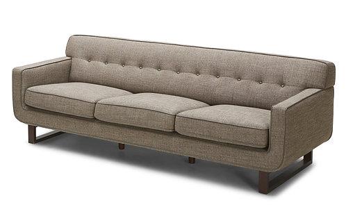 2677 Wood Sled Loveseat/Sofa