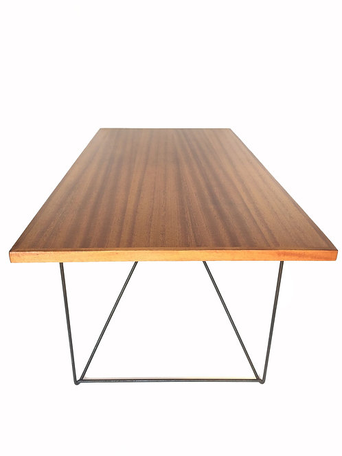 Luther Conover Mahogany and Iron Table ca 1950