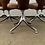 Thumbnail: Vintage Leather Dining Chairs on Pedestal- Set of 6