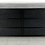 Thumbnail: Low Dresser in Charcoal Lacquer by T.H. Robsjohn-Gibbings