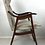 Thumbnail: Set of Four Walnut Dining Chairs Attributed to Edward Wormley for Dunbar