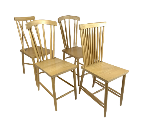 Design House Stockholm Family Chair No. 4 Set of 4 /Beech