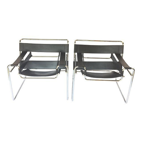 Vintage Pair of Wassily Chairs