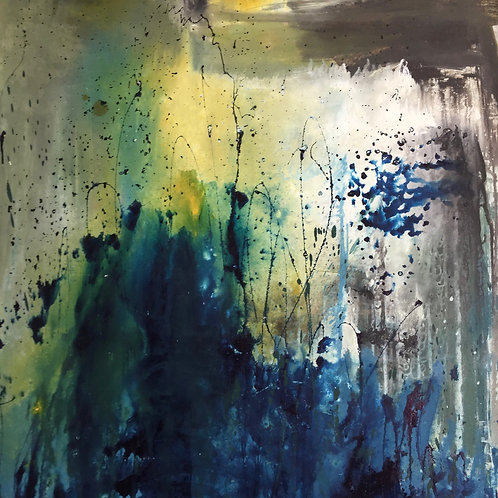 Abstract Drip Paintnig