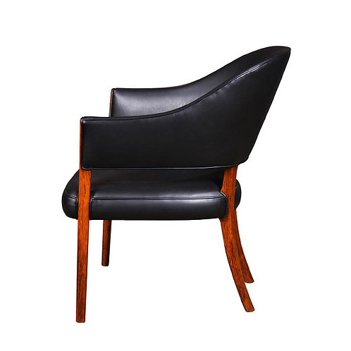 Ole Wanscher Rosewood & Leather Chair