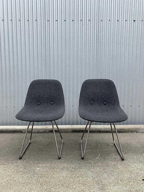 Erik Jorgensen Eyes Chair, a pair