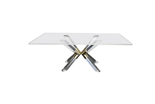"""Post and Truss"" Dining Table by Charles Hollis Jones"