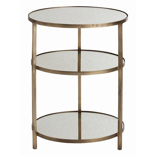 Arteriors Mirror Shelf Side Tables