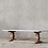 Thumbnail: Marble and Salvaged Wood Restoration Hardware Table