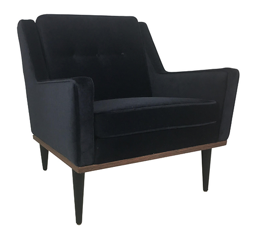 Early Milo Baughman Lounge Chair for James, Inc.
