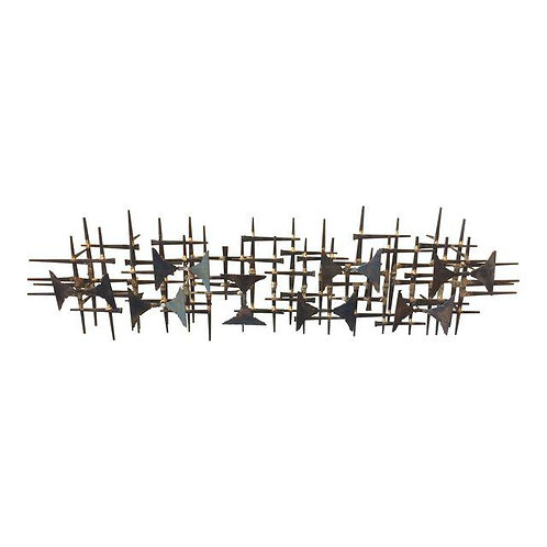 Abstract Brutalist Horse nail Wall Art