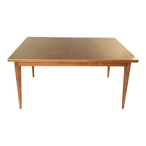 Vintage Teak Drop-leaf Dining Table