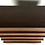 Thumbnail: Sculpted Dimensional Front Walnut Dresser by Merton Gershun