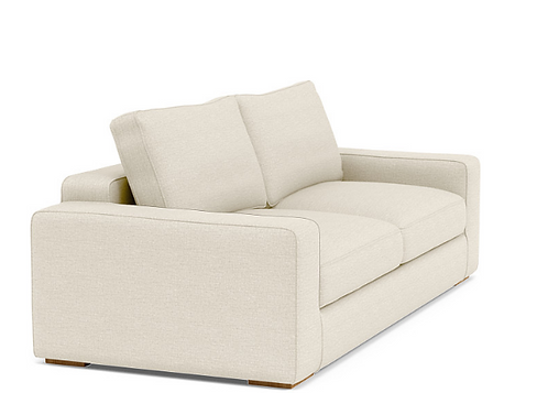 Interior Define Ainsley Sofa w/Ottoman