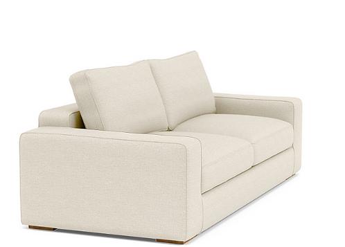 Interior Define Ainsley Sofa w/Ottoman