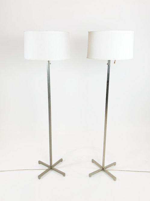 Nessen Studios NYStainless Steel Floor Lamp