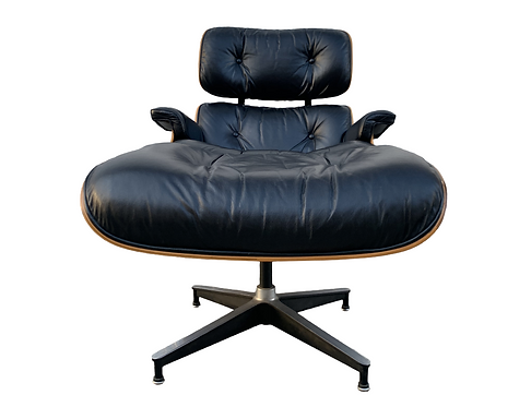 Eames Lounge Chair and Ottoman- 1970's Production