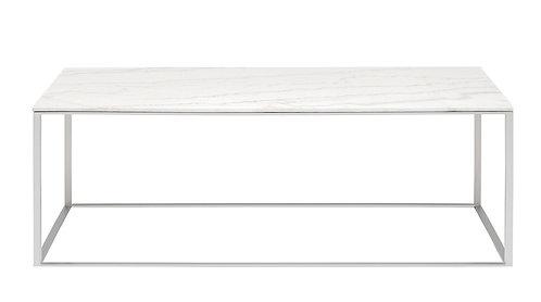 Blu Dot Minimalista Rectangular Marble Coffee Table
