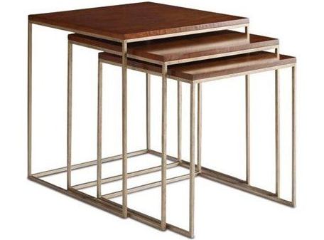 Set of 3 Nesting Tables by Brownstone Furniture