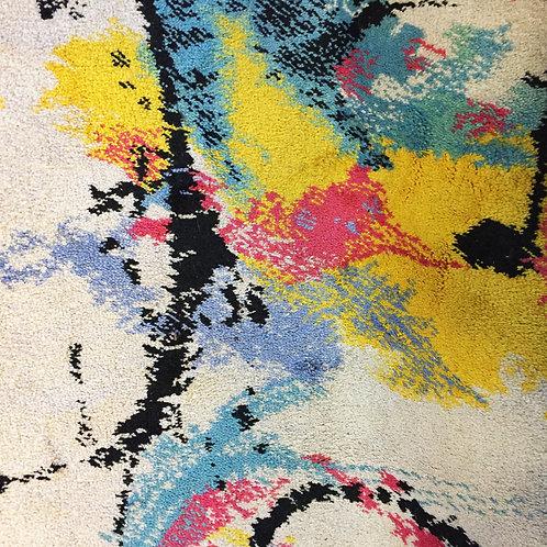 Abstract Pile Rug