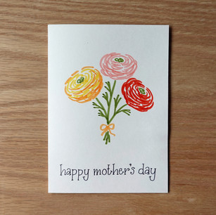 Mother's Day card, 2020