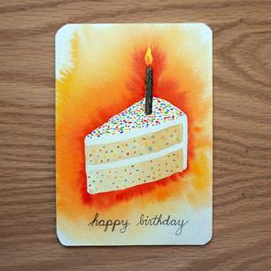 Birthday card, 2021
