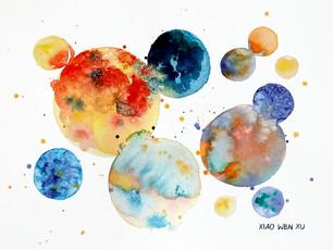 Planetary Drops, 2021