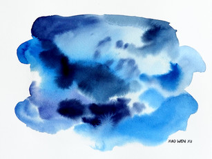 Sapphire Clouds, 2021