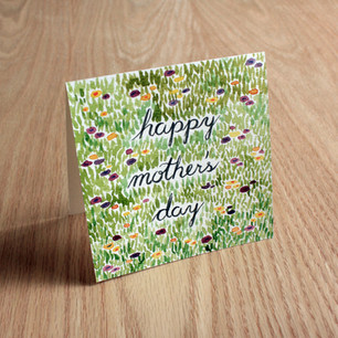 Mother's Day card, 2018