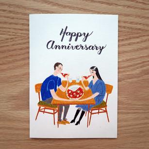 Anniversary Card, 2020