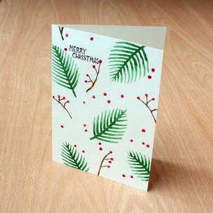 Christmas card, 2018