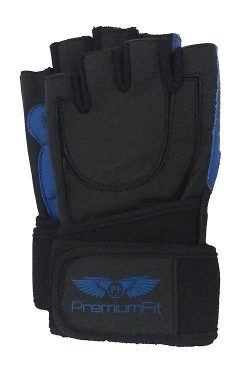 PremiumFit Men's Enhanced Grip Wrist Wrap Weightlifting Gloves